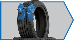 Buy 3 Tires & Get 1 Absolutely Free!