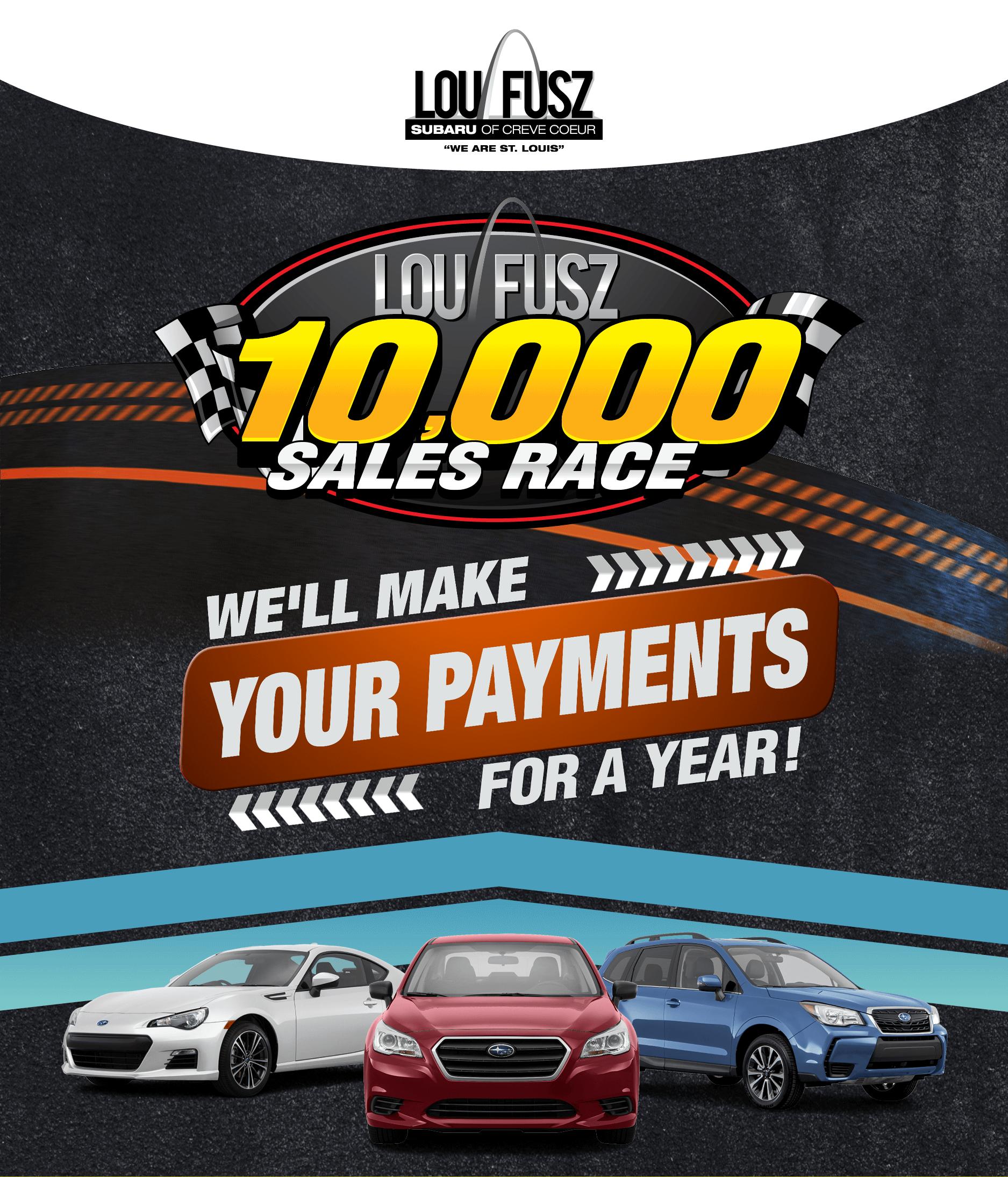 Subaru Dealer St Louis >> Lou Fusz 10K Sales Race   Lou Fusz Subaru - St Louis