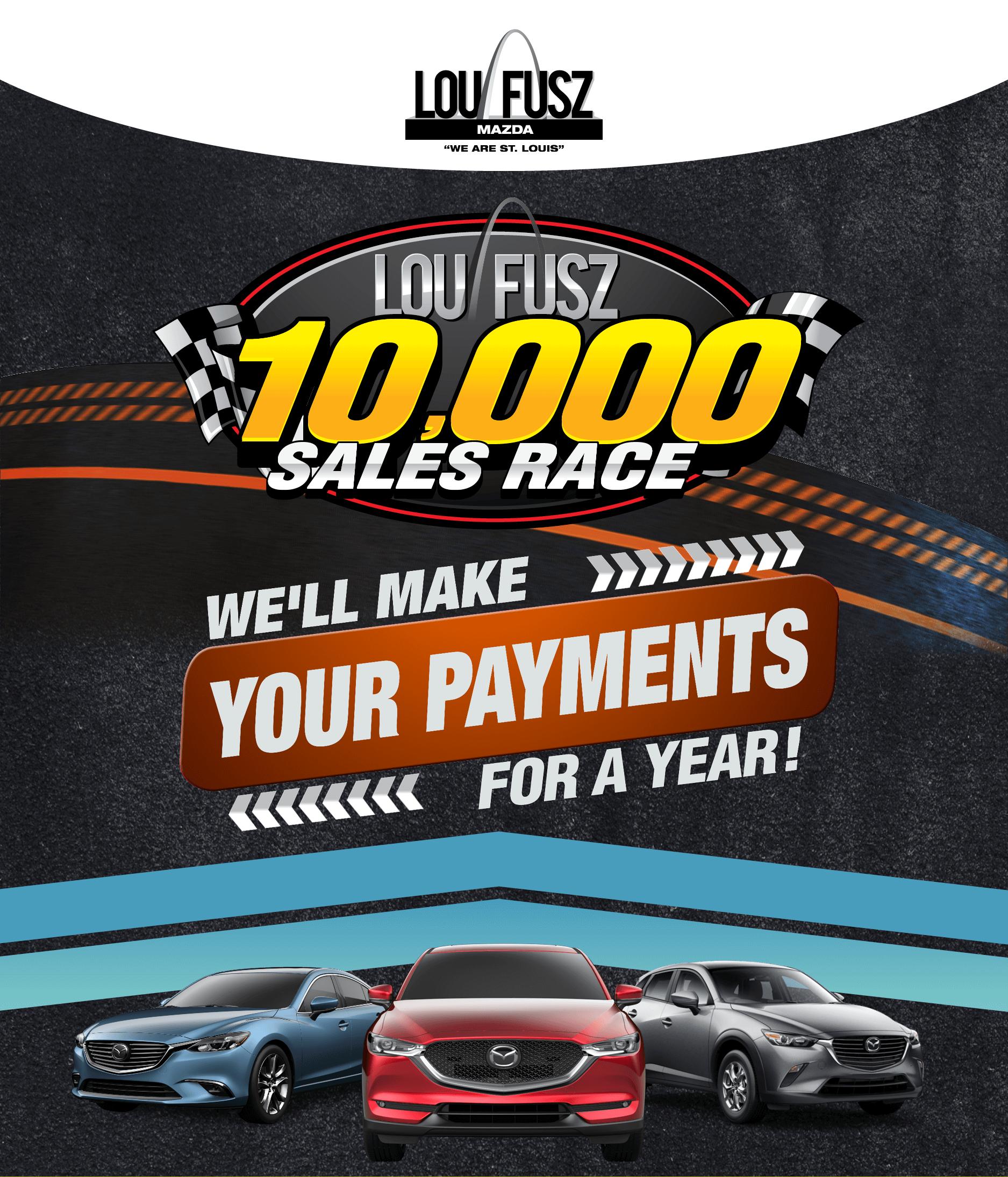 lou fusz 10k sales race