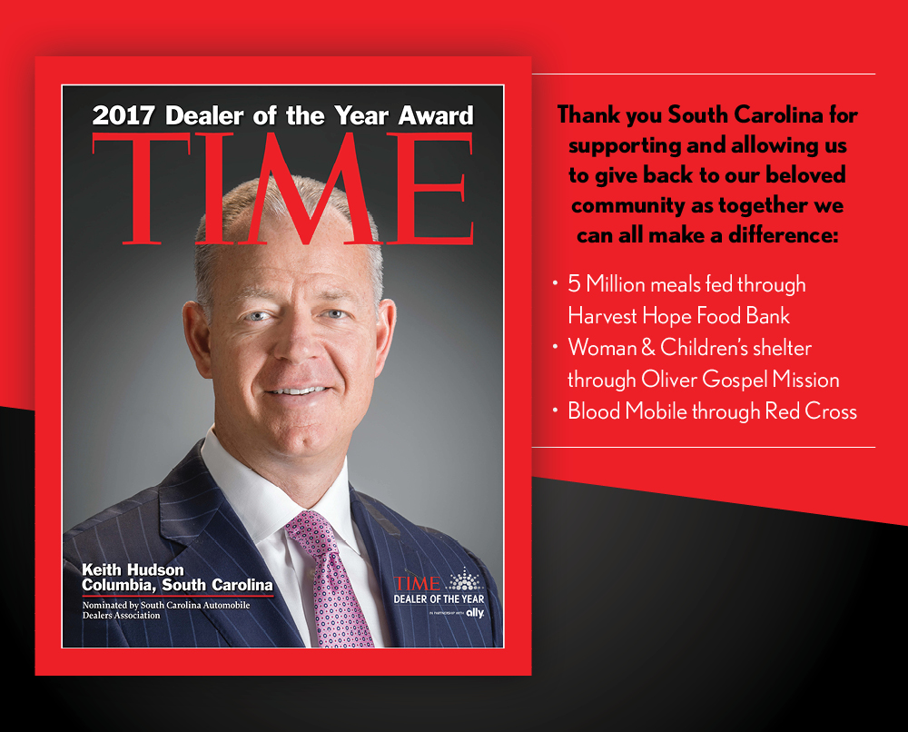 2017 South Carolina Time Dealer of the Year