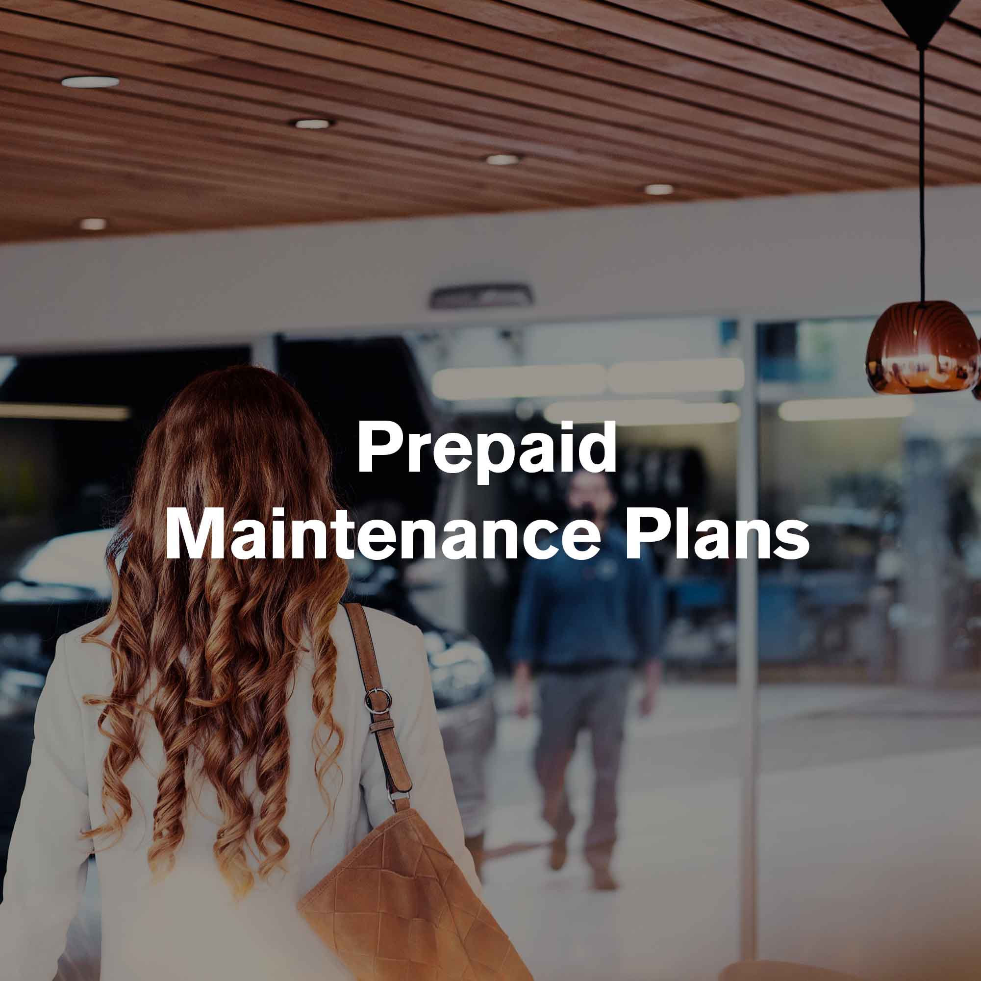 Pre-Paid Maintenance Plans